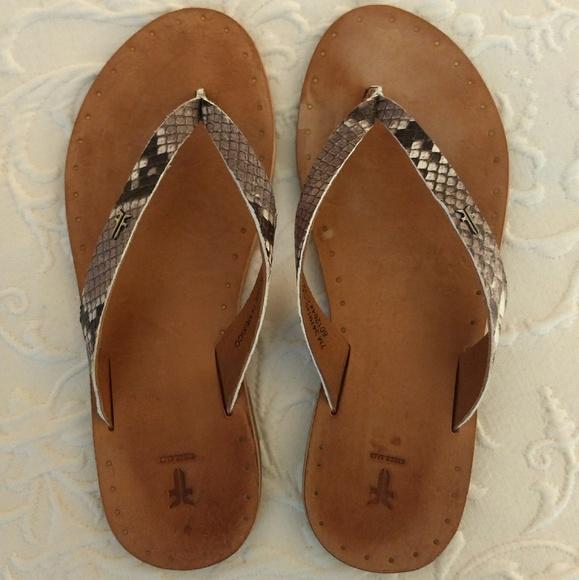 806597d6b Frye Shoes - Frye Ally Logo Flip Flop
